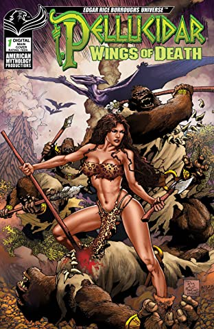 ERB Pellucidar: Wings of Death No.1