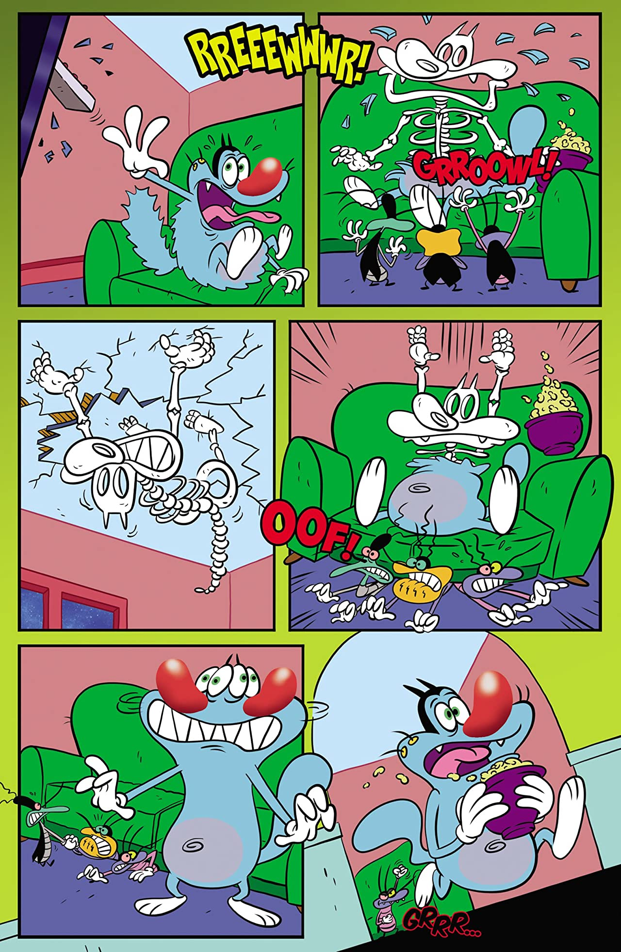 Oggy & the Cockroaches #1