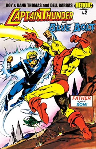 Captain Thunder and Blue Bolt #2