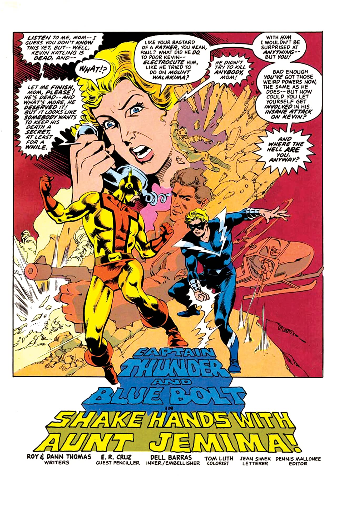 Captain Thunder and Blue Bolt #3