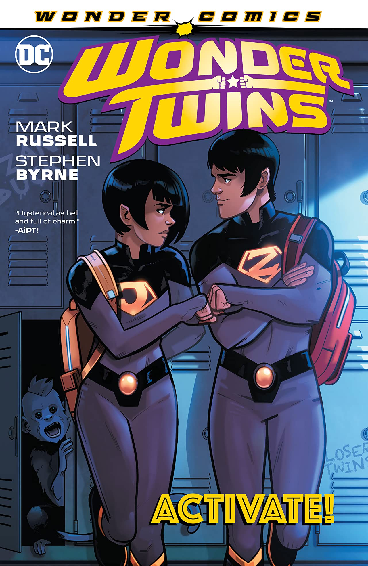 Wonder Twins (2019-) Tome 1: Activate!