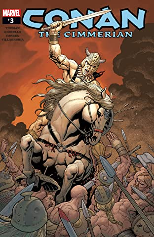 Conan The Cimmerian (2008-2010) #3