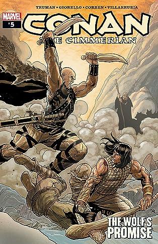 Conan The Cimmerian (2008-2010) #5