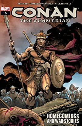 Conan The Cimmerian (2008-2010) #6