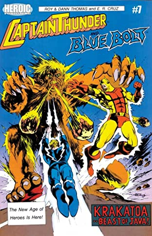 Captain Thunder and Blue Bolt #7