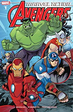 Marvel Action Avengers (2018-) #1