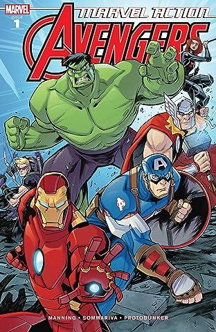 Marvel Action Avengers (2018-2020) #1