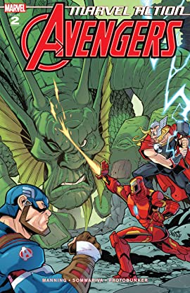 Marvel Action Avengers (2018-) #2
