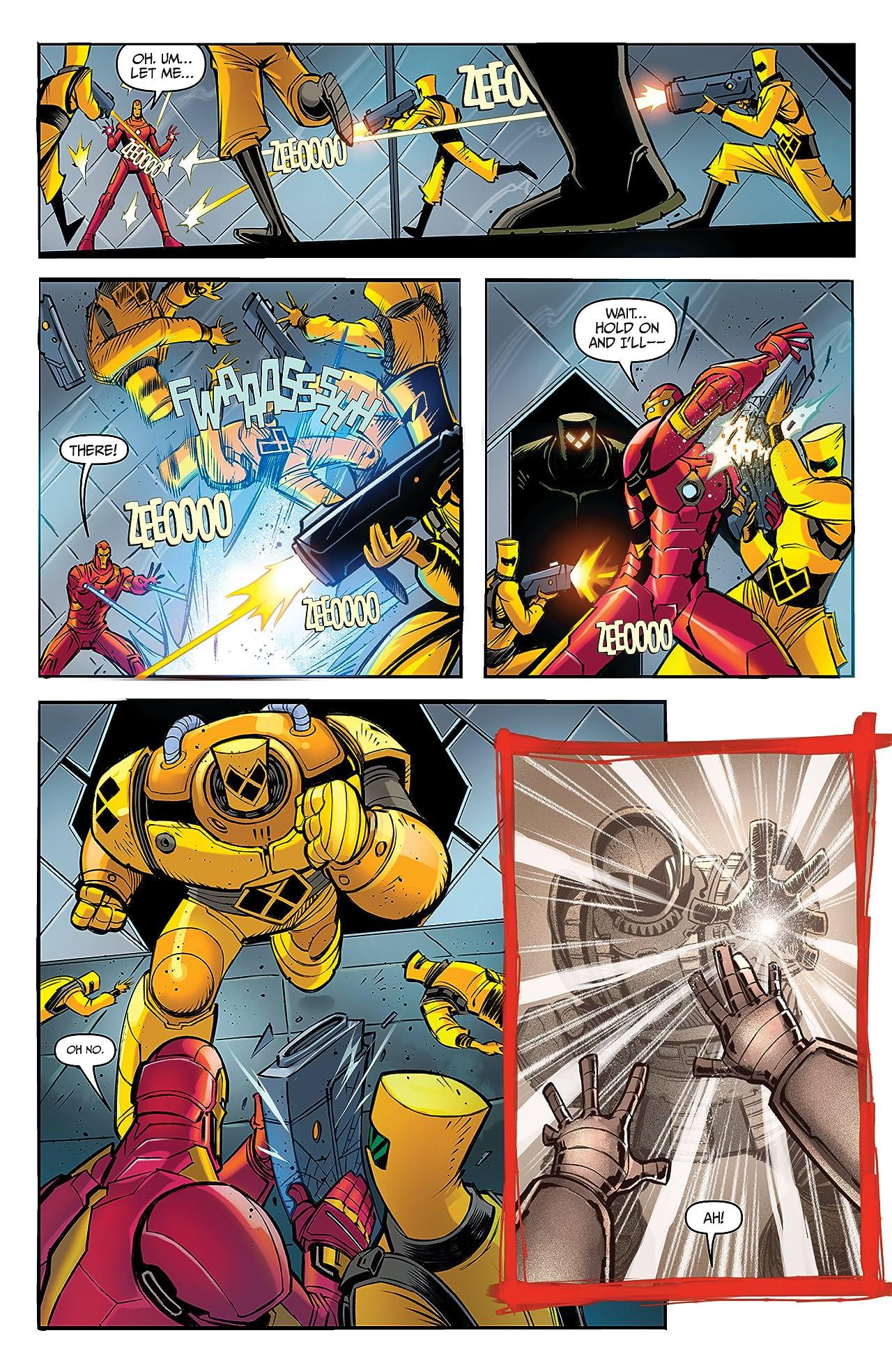Marvel Action Avengers (2018-) #2