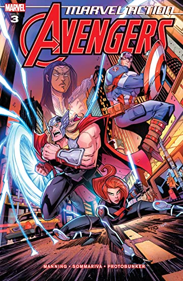 Marvel Action Avengers (2018-2020) #3