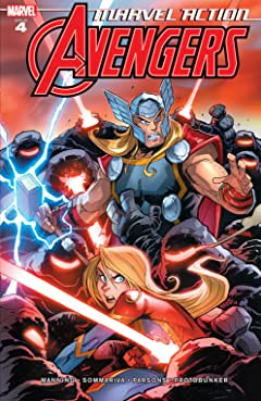 Marvel Action Avengers (2018-) #4