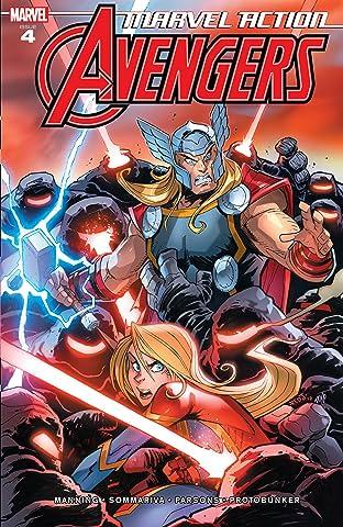 Marvel Action Avengers (2018-2020) #4