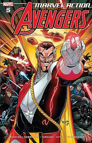Marvel Action Avengers (2018-) #5