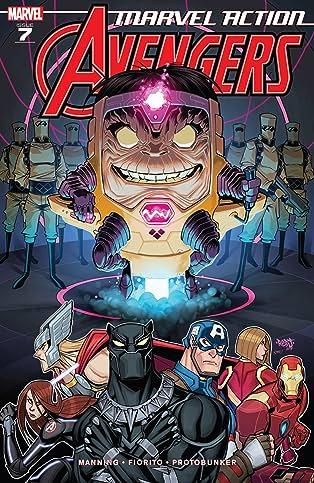 Marvel Action Avengers (2018-) #7