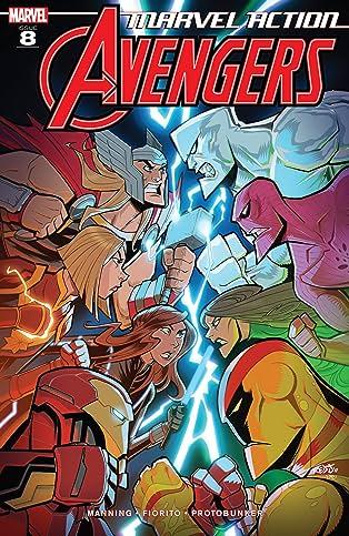 Marvel Action Avengers (2018-) #8