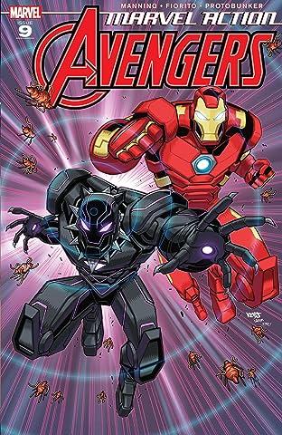Marvel Action Avengers (2018-2020) #9