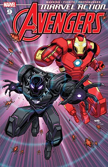 Marvel Action Avengers (2018-2020) #9