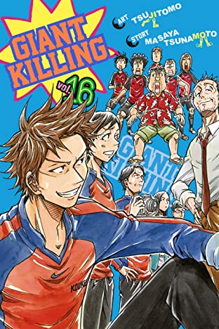 Giant Killing Tome 16