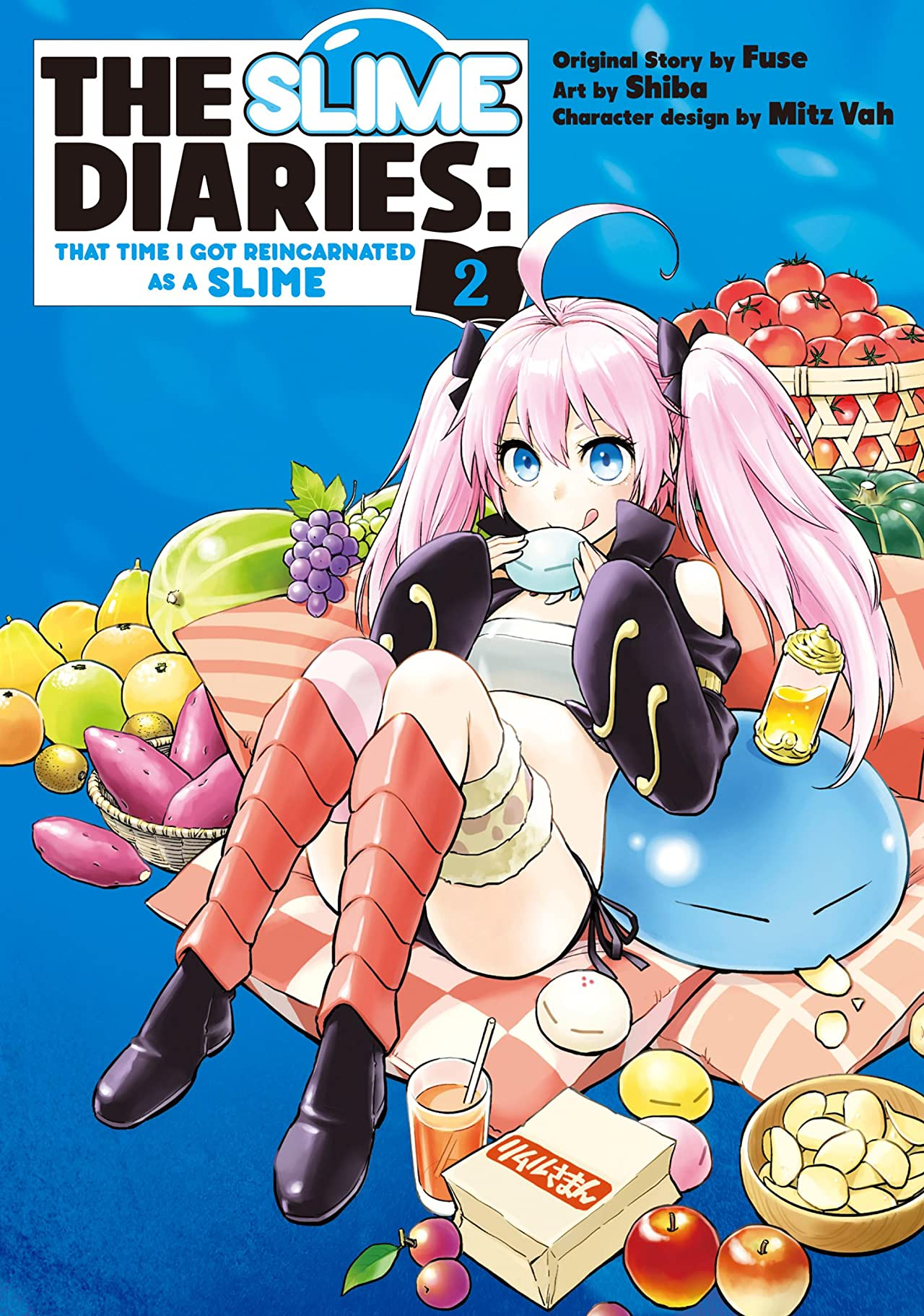 The Slime Diaries: That Time I Got Reincarnated as a Slime Tome 2