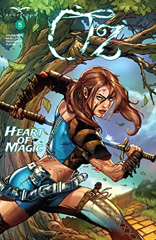 Oz #5: Heart of Magic