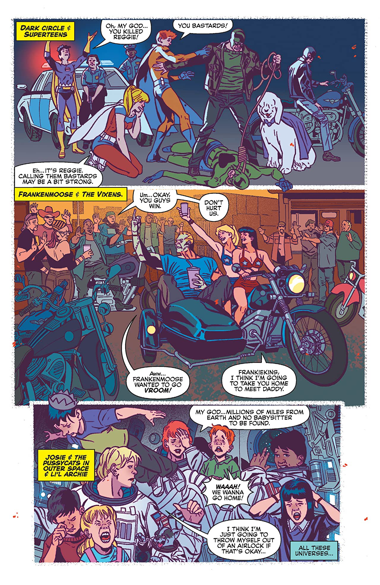 Jughead the Hunger vs Vampironica #5