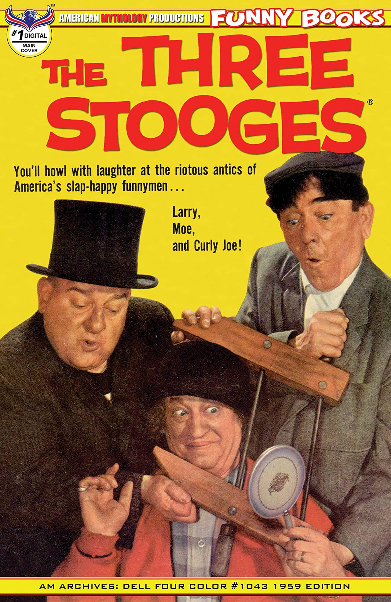 Three Stooges Four Color 1959 #1