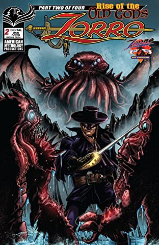 Zorro : Rise of the Old Gods #2
