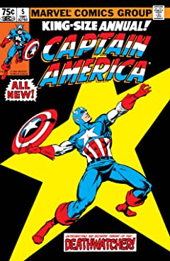 Captain America (1968-1996) Annual #5