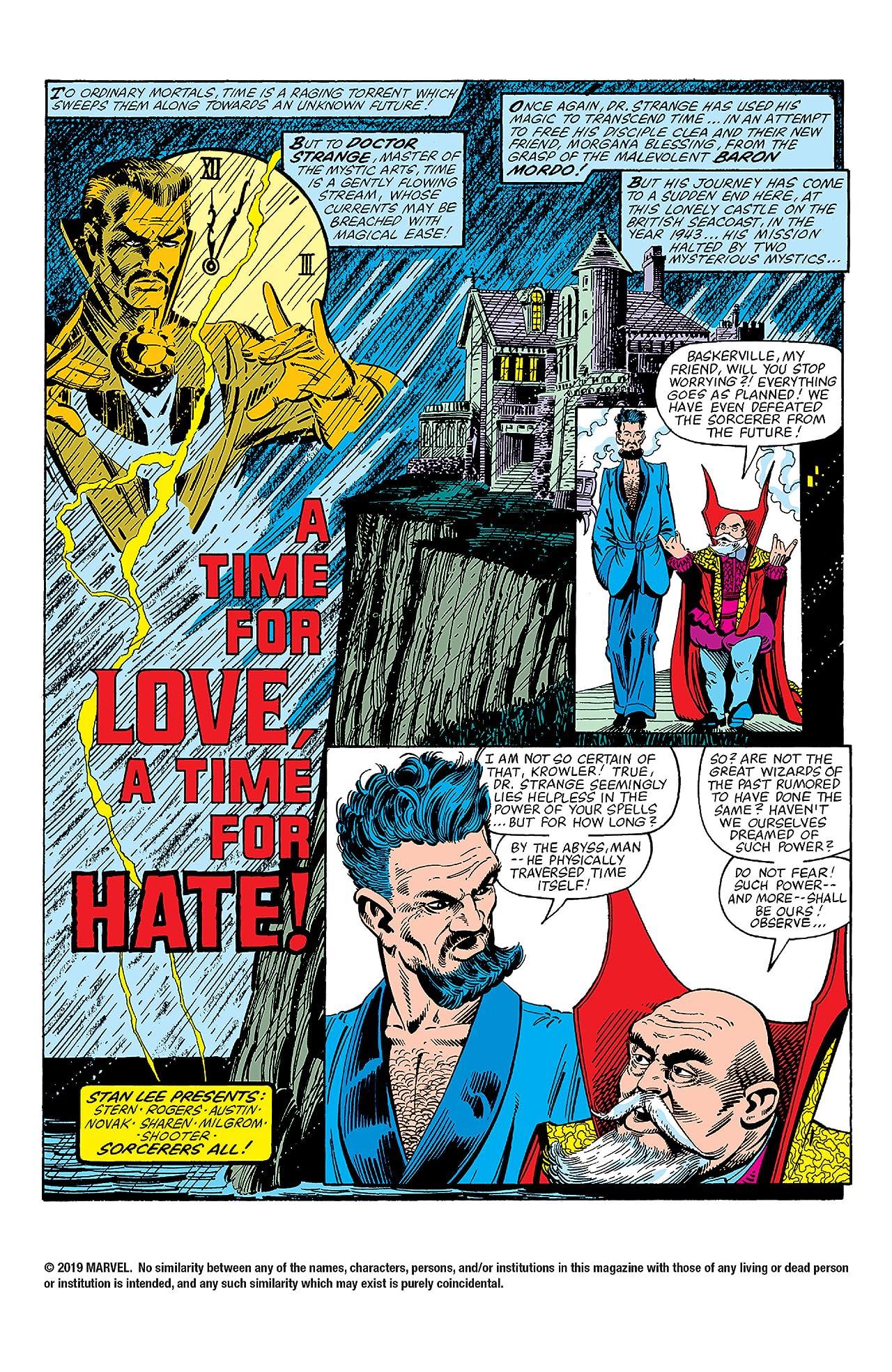 Doctor Strange (1974-1987) #51