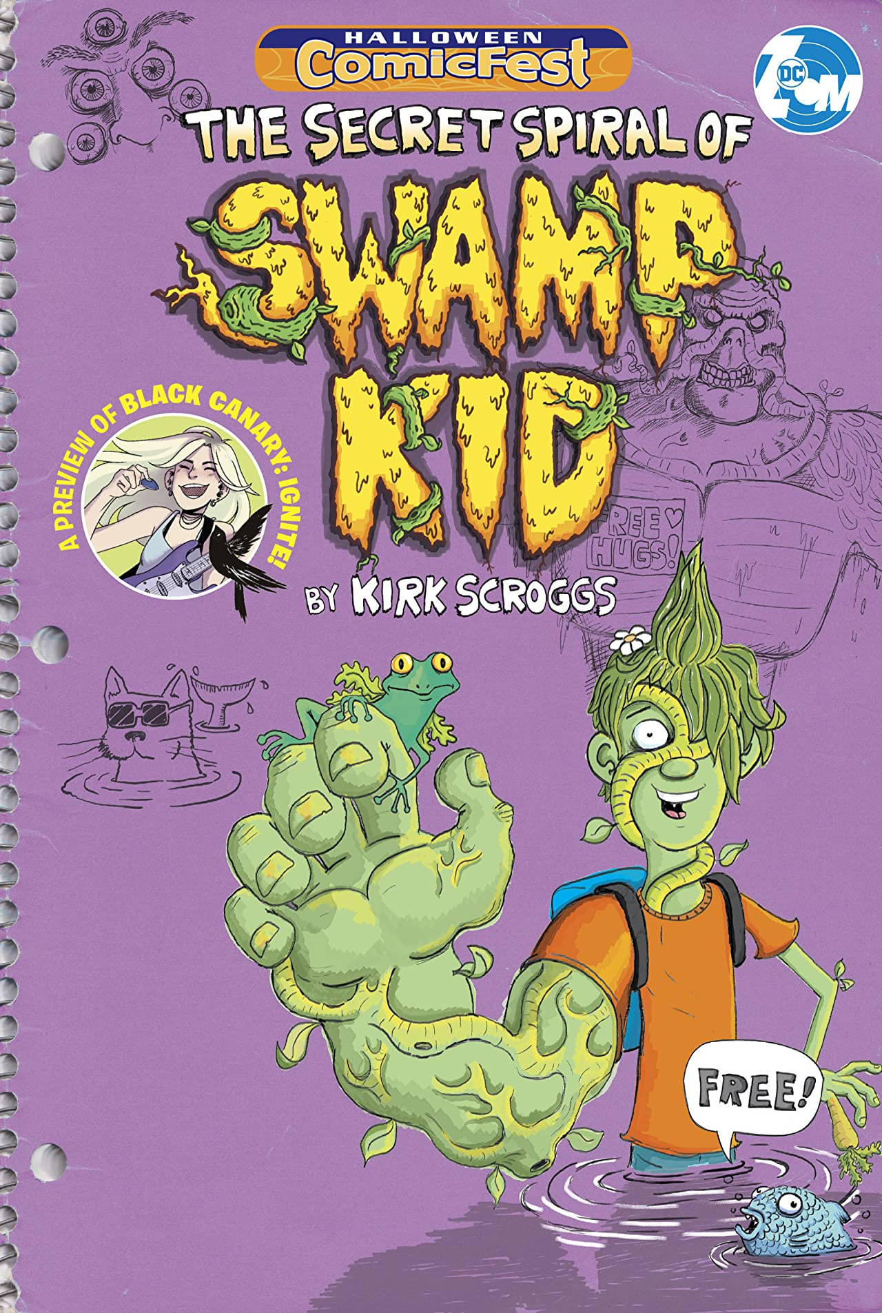 The Secret Spiral of Swamp Kid/Black Canary: Ignite Halloween ComicFest Special Edition Flip Book (2019) #1