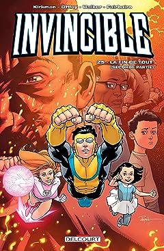 Invincible Tome 25: La fin de tout (2eme partie)
