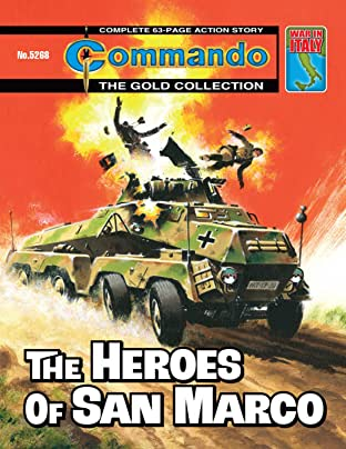 Commando #5268: The Heroes Of San Marco