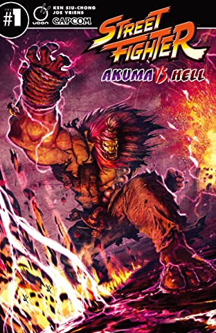 Street Fighter: Akuma VS Hell #1