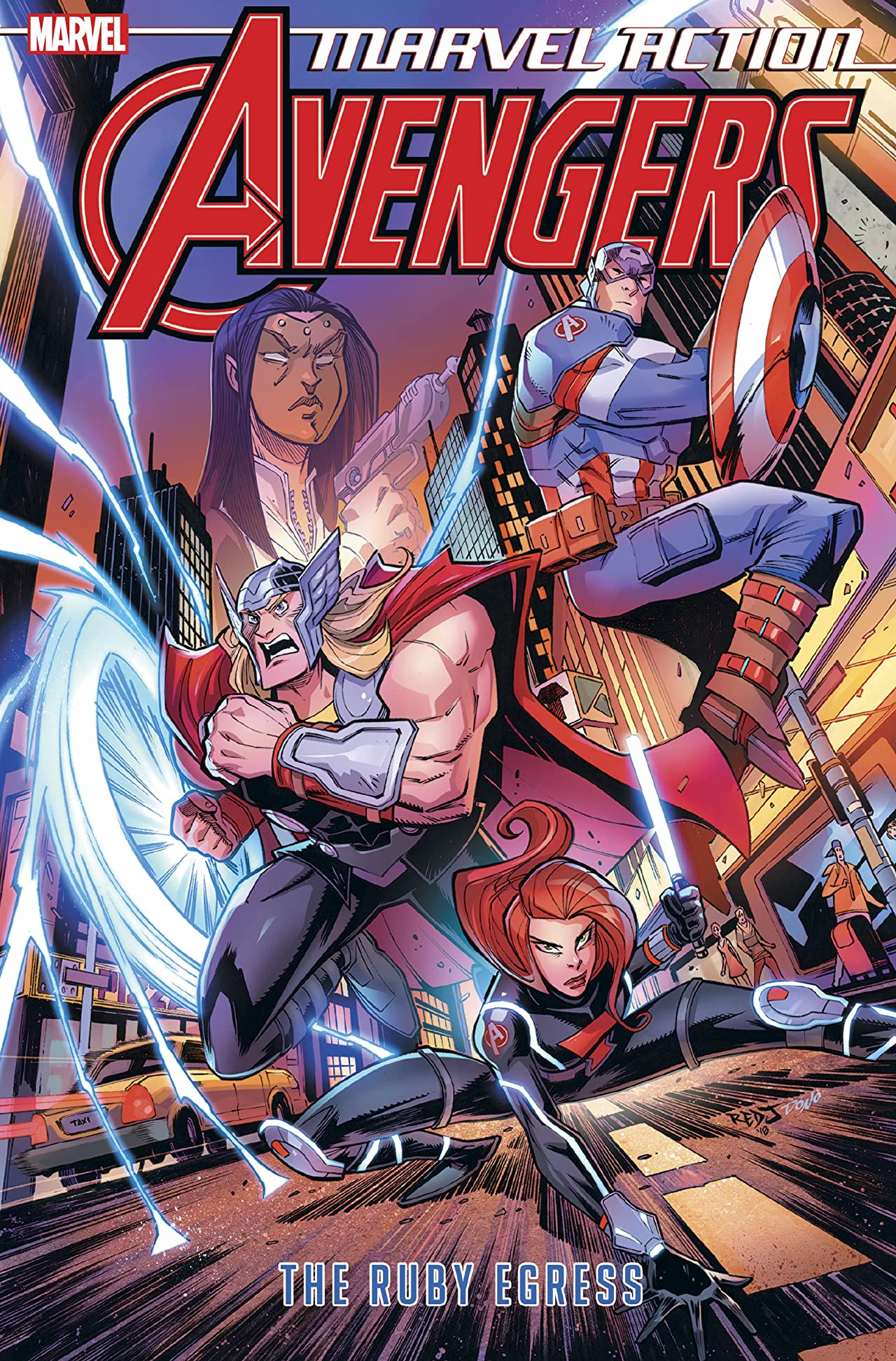 Marvel Action Avengers Vol. 2: The Ruby Egress