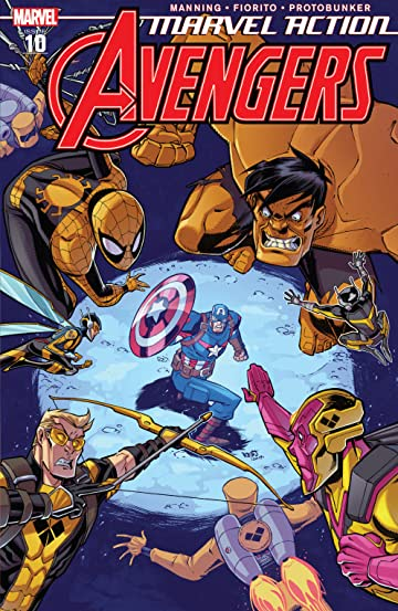 Marvel Action Avengers (2018-2020) #10