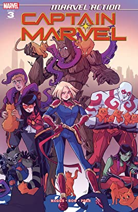 Marvel Action Captain Marvel (2019-2020) #3 (of 3)