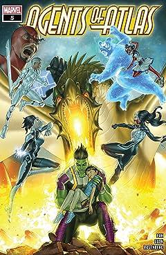 Agents Of Atlas (2019-) #5 (of 5)