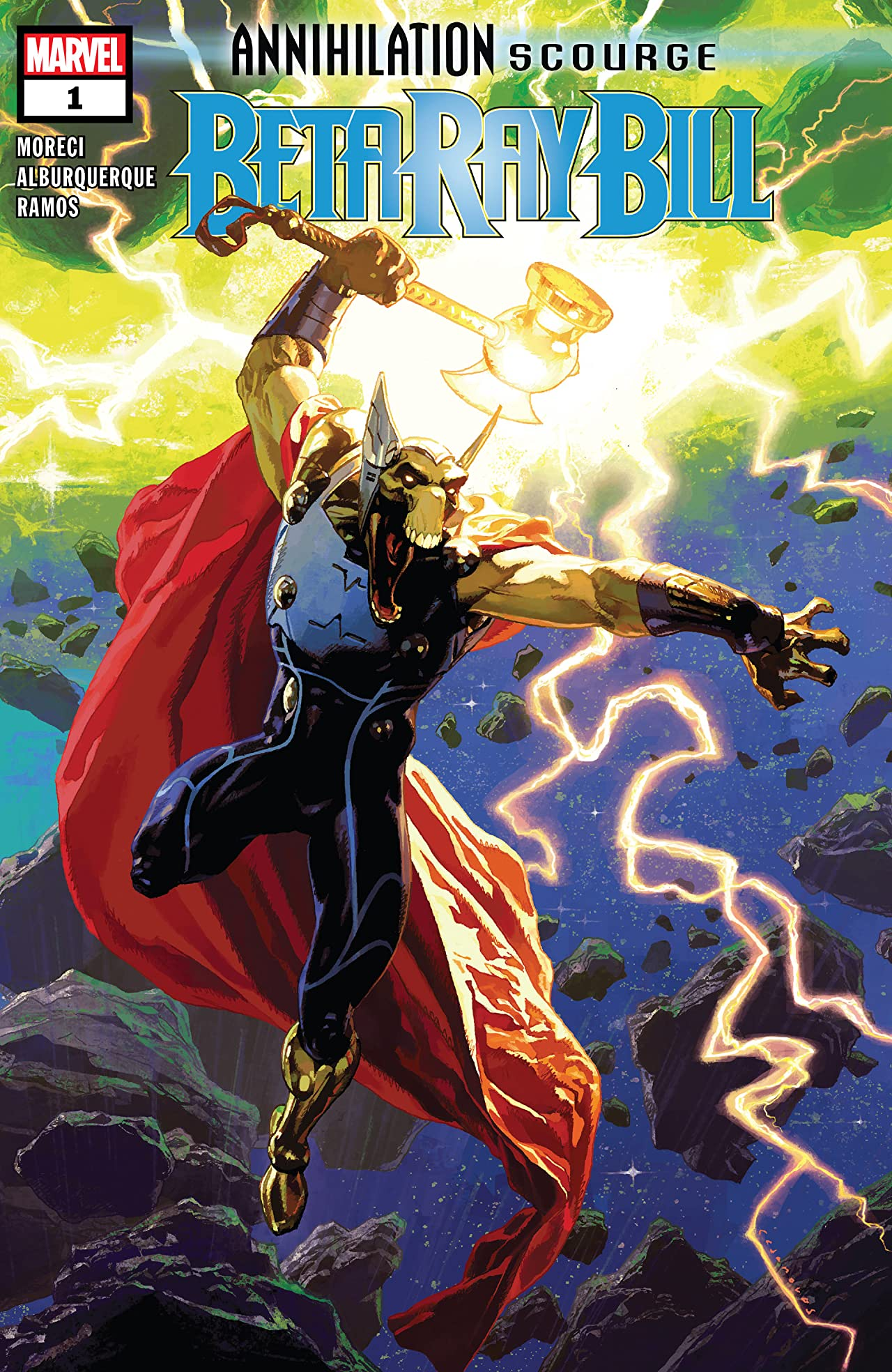 Annihilation - Scourge: Beta Ray Bill (2019) #1