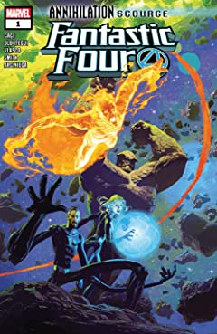Annihilation - Scourge: Fantastic Four (2019) #1