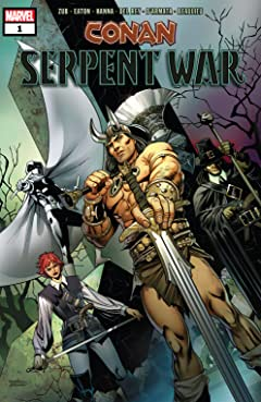 Conan: Serpent War (2019-2020) #1 (of 4)