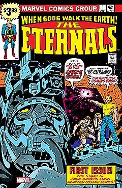 Eternals (1976-1978) #1: Facsimile Edition