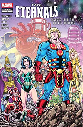 Eternals: Secrets From The Marvel Universe (2019) #1