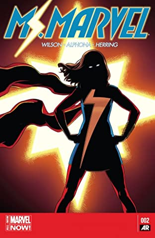Ms. Marvel (2014-2015) No.2