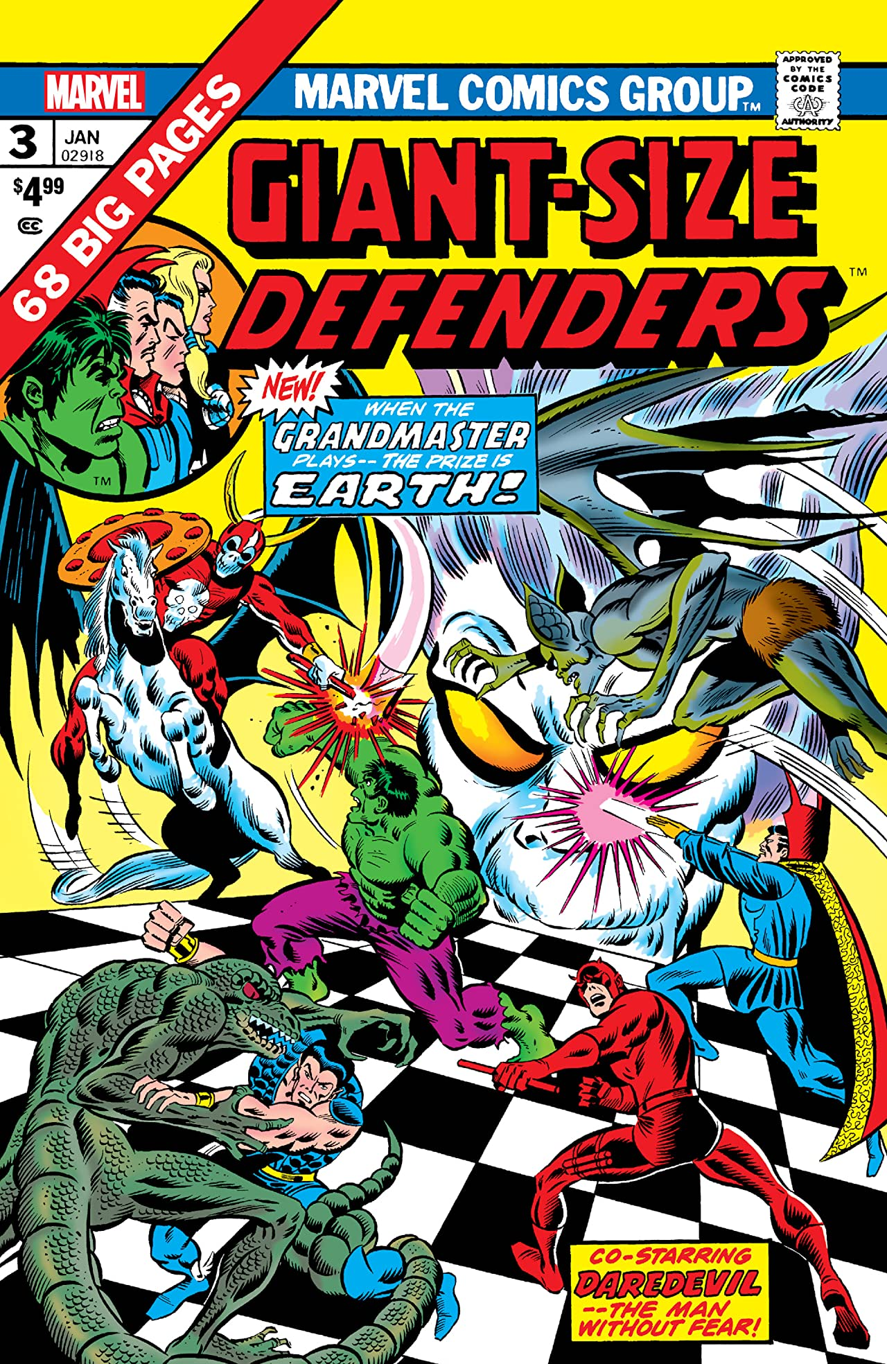 Giant-Size Defenders (1974-1975) #3: Facsimile Edition