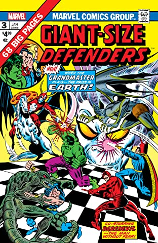 Giant-Size Defenders (1974-1975) No.3: Facsimile Edition