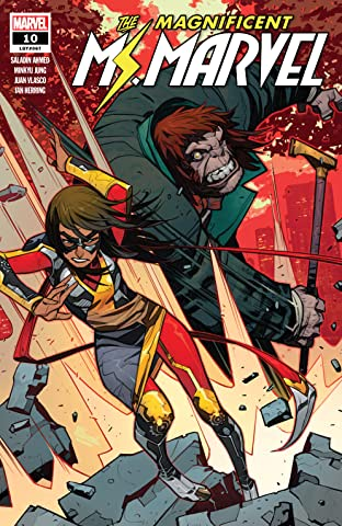 Magnificent Ms. Marvel (2019-) No.10