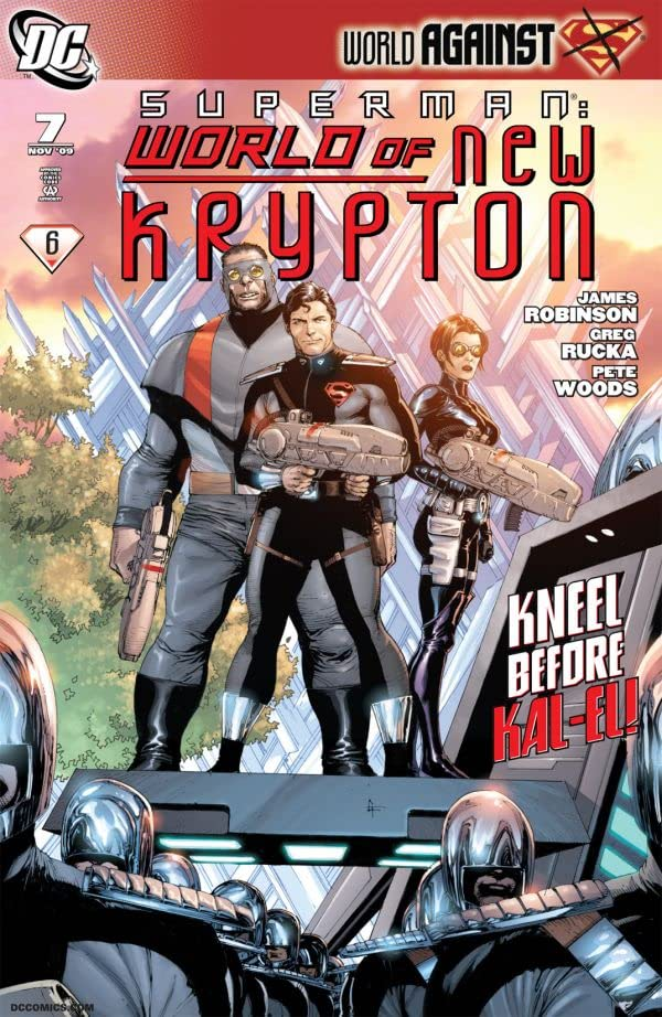 Superman: The World of New Krypton #7