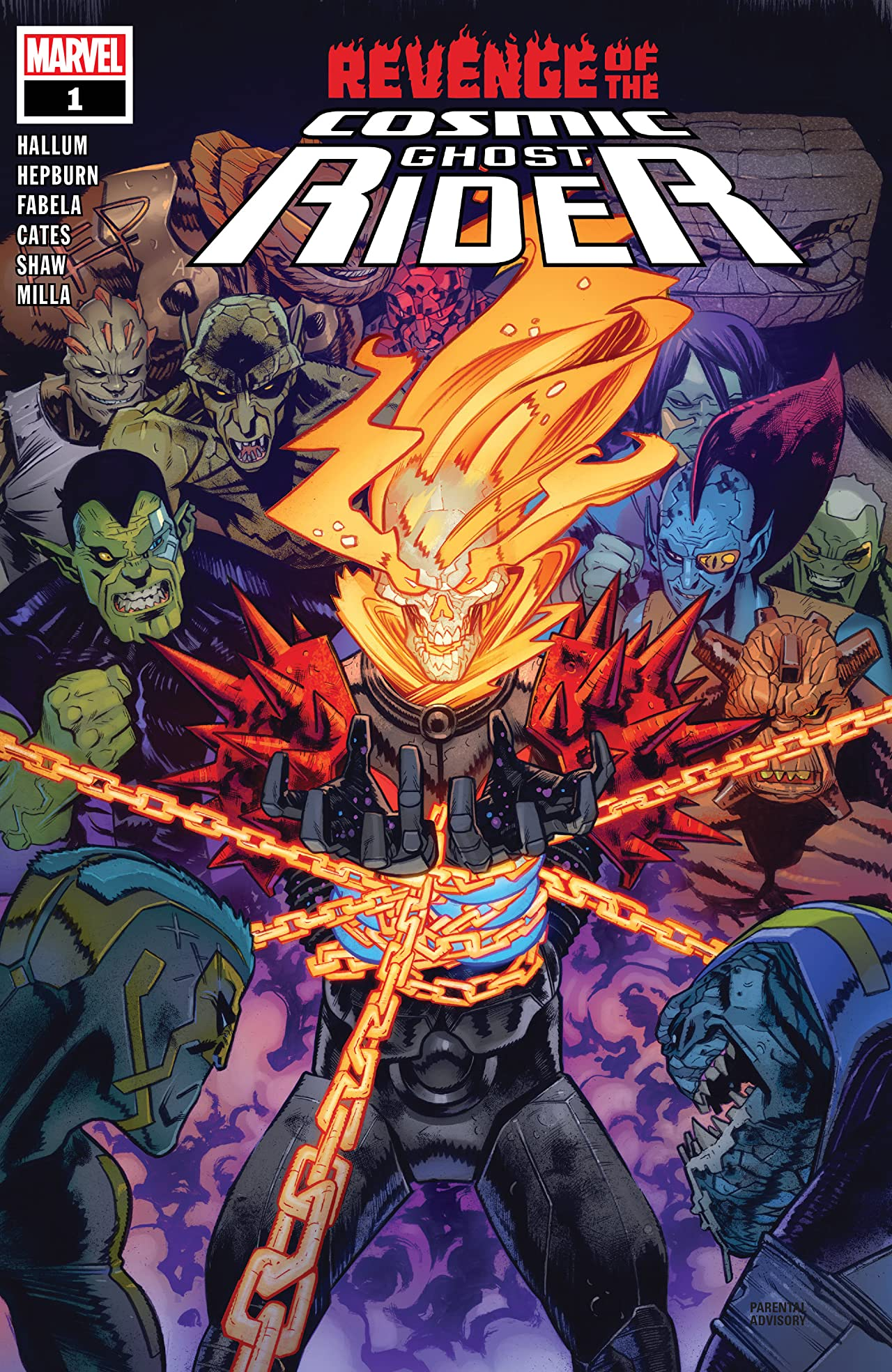 Revenge Of The Cosmic Ghost Rider (2019-) No.1 (sur 5)