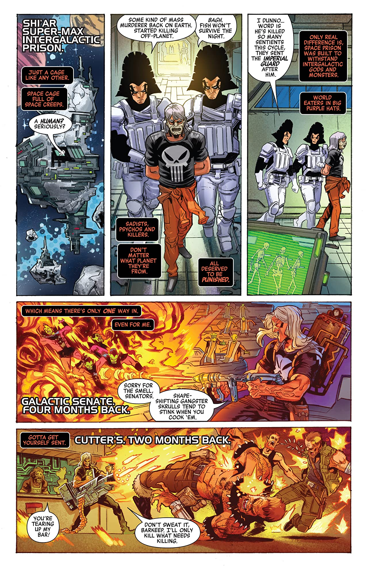 Revenge Of The Cosmic Ghost Rider (2019-2020) #1 (of 5)