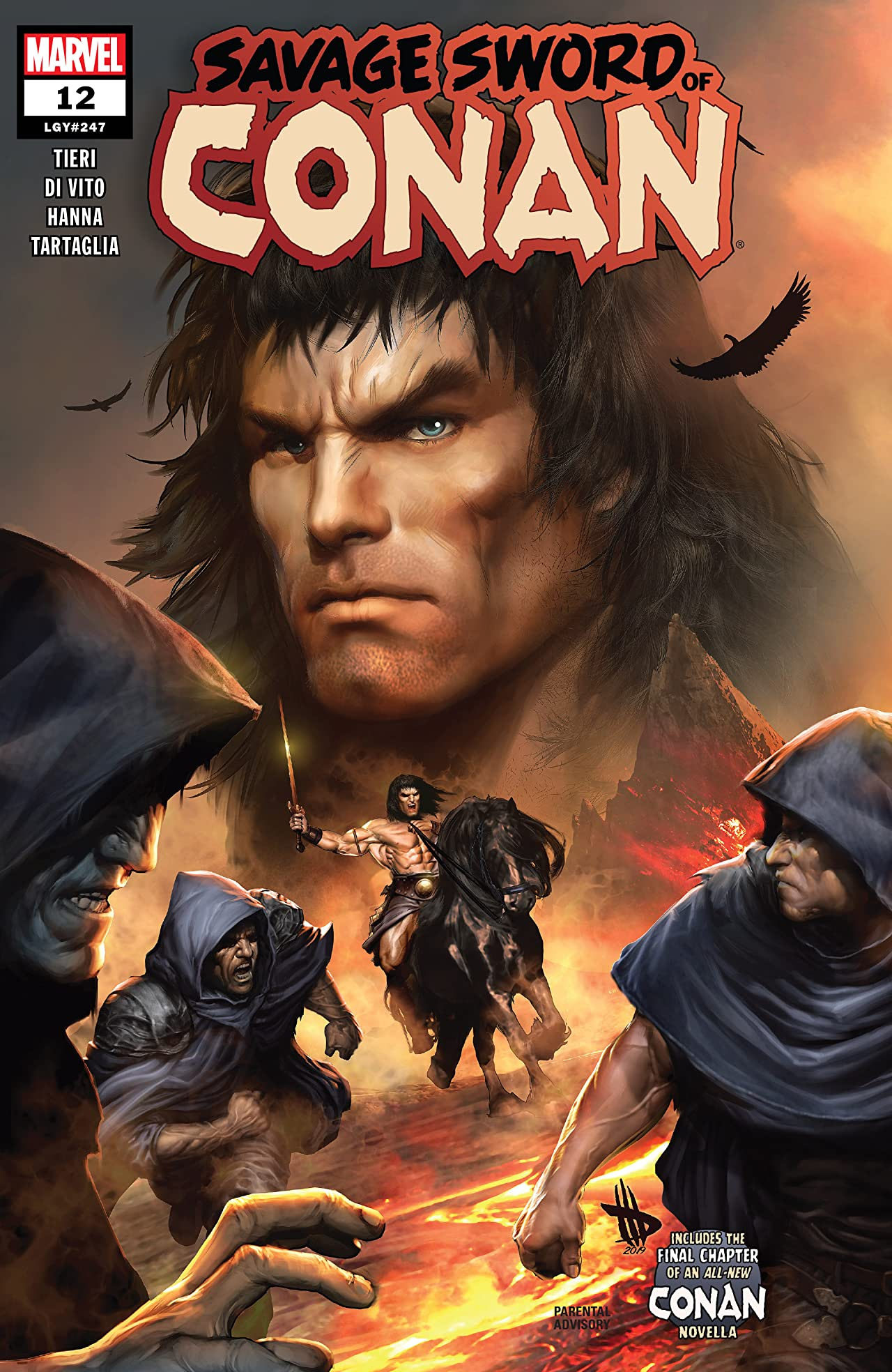 Savage Sword Of Conan (2019-) No.12